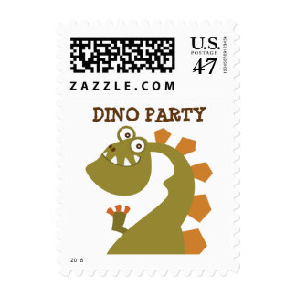 Dinosaur Land Party Postage