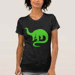 Dinosaur - Light Green Tee Shirts