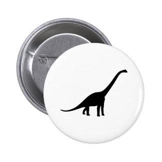 Dinosaur - Longneck 2 Inch Round Button
