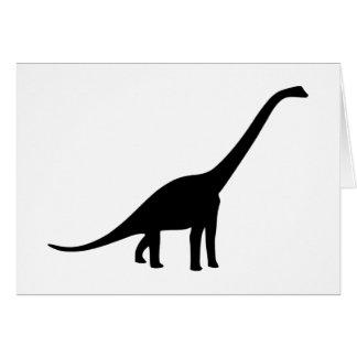 Dinosaur - Longneck Card