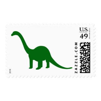 Dinosaur Longneck Stamp