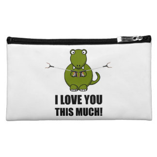 Dinosaur Love You This Much Cosmetic Bag