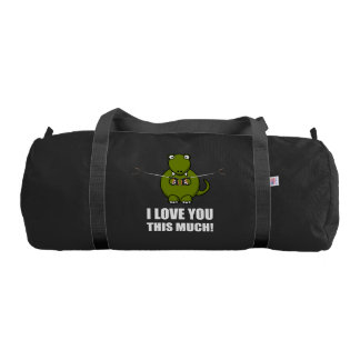 Dinosaur Love You This Much Gym Bag