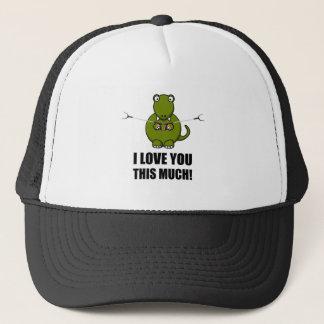 Dinosaur Love You This Much Trucker Hat