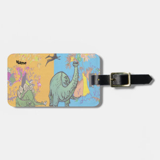 Dinosaur Luggage Tag for Kids
