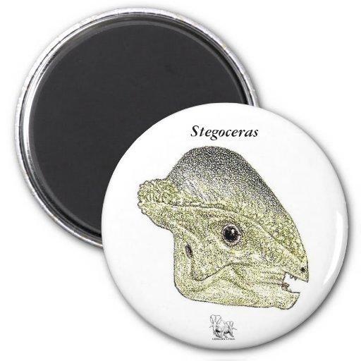 Dinosaur Magnet Stegoceras Profile Gregory Paul