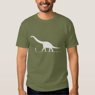 Dinosaur & Man Shirt