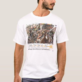 Dinosaur Market Zazzle Contest Entry T-Shirt