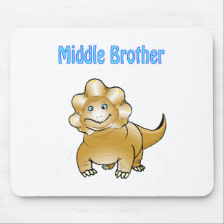 dinosaur middle brother mouse pads