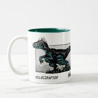 Dinosaur Mug - Velociraptor
