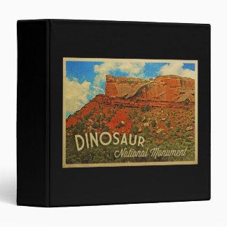 Dinosaur National Monument 3 Ring Binder