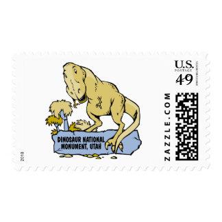 Dinosaur National Monument Postage