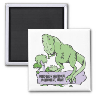 Dinosaur National Monument Utah 2 Inch Square Magnet
