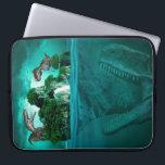 "Dinosaur : Neoprene Laptop Sleeve<br><div class=""desc"">This is an image of Dinosaur Island on a 15 inch Neoprene Laptop Sleeve.</div>"