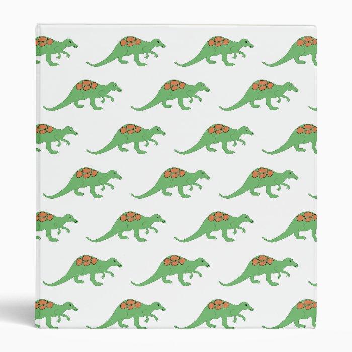 Dinosaur Notebook Binder