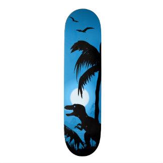 Dinosaur of the Night Skateboard
