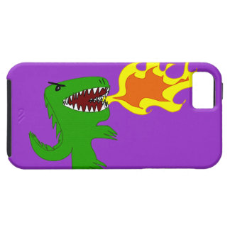 Dinosaur or Dragon Art by little t and Rene Lopez iPhone SE/5/5s Case