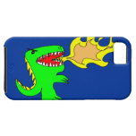 Dinosaur or Dragon Art by little t + Joseph Adams iPhone 5 Cover