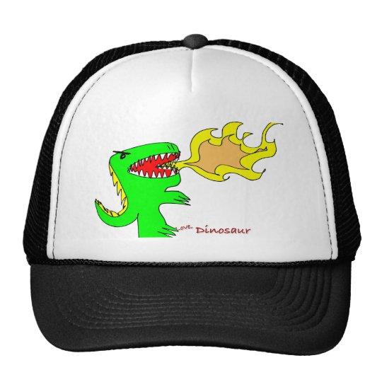 Dinosaur or Dragon Art by little t + Joseph Adams Trucker Hat