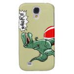 Dinosaur or Dragon Art by Luis Julián Torruellas Samsung Galaxy S4 Case