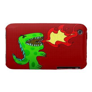 Dinosaur or Dragon by Jessica Jimerson - 2 iPhone 3 Covers