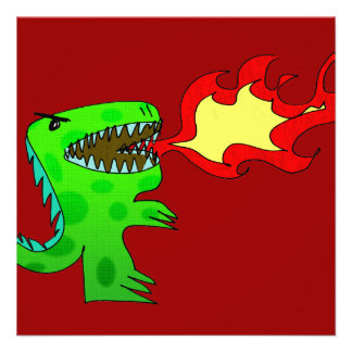 Dinosaur or Dragon by Jessica Jimerson - 2 Personalized Announcements