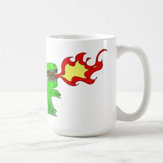 Dinosaur or Dragon by Jessica Jimerson - 2 Coffee Mugs