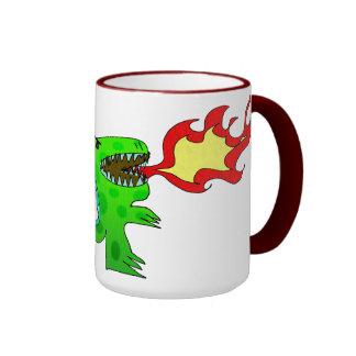 Dinosaur or Dragon by Jessica Jimerson - 2 Mug
