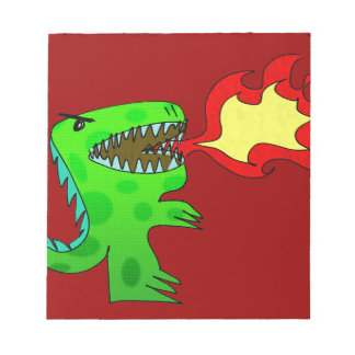 Dinosaur or Dragon by Jessica Jimerson - 2 Scratch Pads