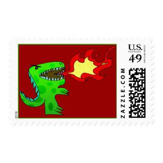 Dinosaur or Dragon by Jessica Jimerson - 2 Postage