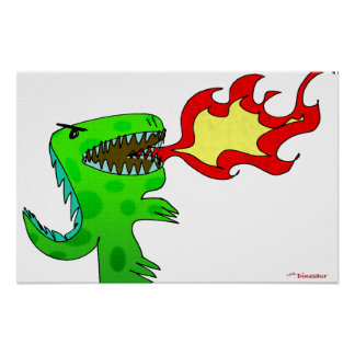 Dinosaur or Dragon by Jessica Jimerson - 2 Poster