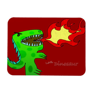 Dinosaur or Dragon by Jessica Jimerson - 2 Magnet
