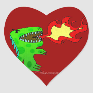 Dinosaur or Dragon by Jessica Jimerson - 2 Stickers