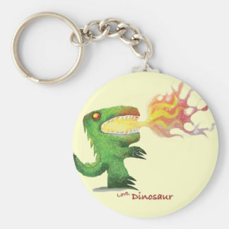 Dinosaur or Dragon by little t and Abdul Rasheed Keychain