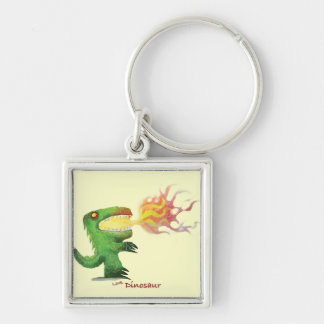 Dinosaur or Dragon by little t and Abdul Rasheed Key Chains