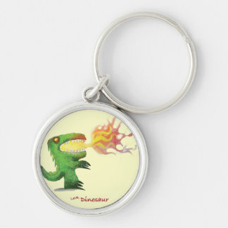 Dinosaur or Dragon by little t and Abdul Rasheed Key Chain