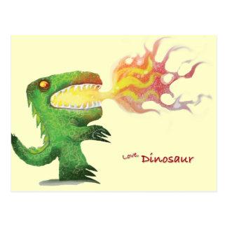 Dinosaur or Dragon by little t and Abdul Rasheed Postcard