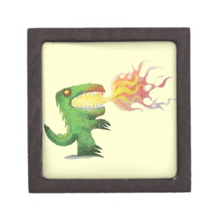 Dinosaur or Dragon by little t and Abdul Rasheed Premium Jewelry Box