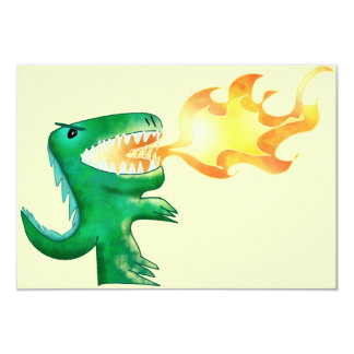 Dinosaur or Dragon by little t and Andrew Harmon Card