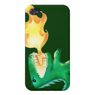 Dinosaur or Dragon by little t and Andrew Harmon iPhone 4 Covers