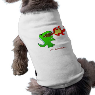Dinosaur or Dragon by little t + Jessica Jimerson Doggie Tee