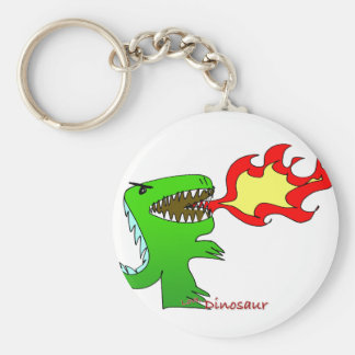 Dinosaur or Dragon by little t + Jessica Jimerson Key Chain