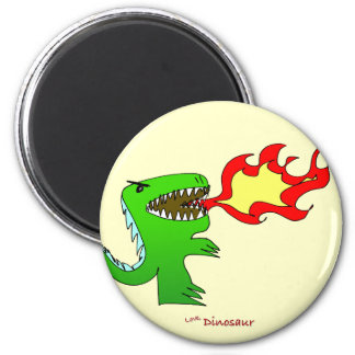 Dinosaur or Dragon by little t + Jessica Jimerson Magnet