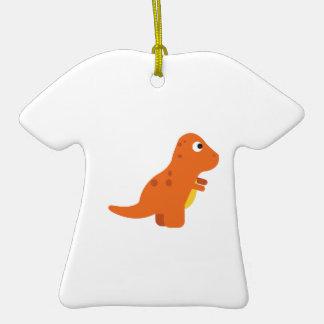 Dinosaur Ceramic T-Shirt Ornament