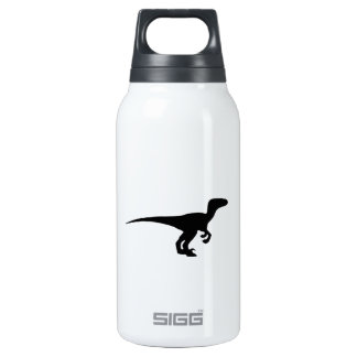 Dinosaur Outline Jurassic Era Insulated Water Bottle