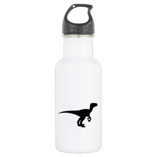 Dinosaur Outline Jurassic Era Stainless Steel Water Bottle