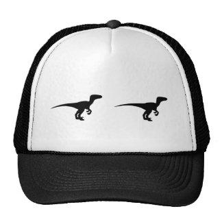 Dinosaur Outline Jurassic Era Trucker Hat