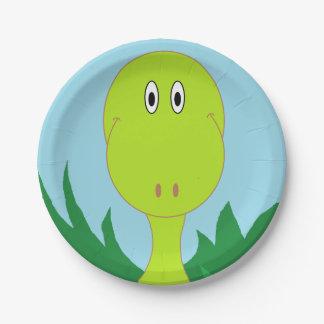 """Dinosaur"" Paper Plates"