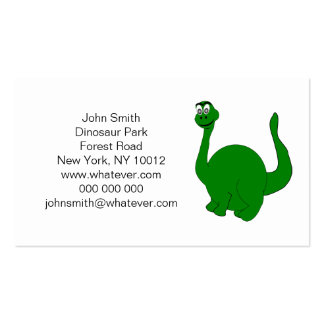 Dinosaur Park Double-Sided Standard Business Cards (Pack Of 100)