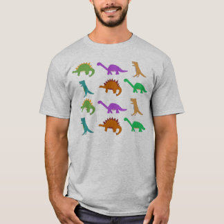 Dinosaur pattern apparel T-Shirt
